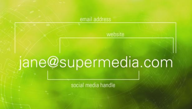social media infographic - katherine